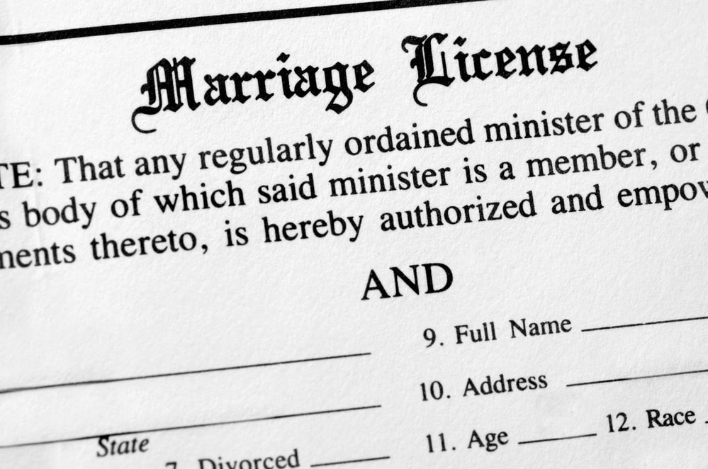 Obtain A Marriage License